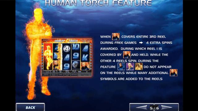 Игровой интерфейс Fantastic Four 7