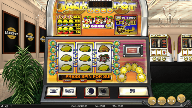 Бонусная игра Jackpot 6000 9