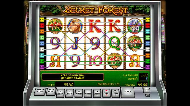 Игровой интерфейс Secret Forest 4