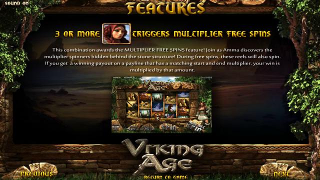 Характеристики слота Viking Age 4
