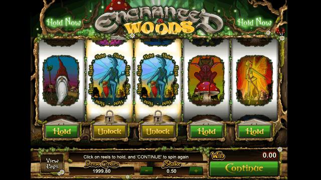 Игровой интерфейс Enchanted Woods 6