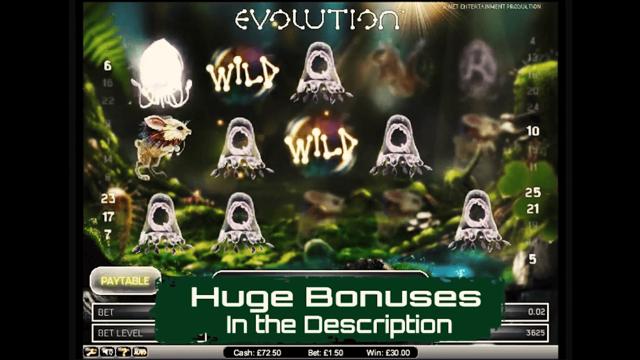 Бонусная игра Evolution 4