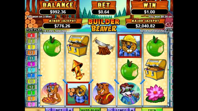 Бонусная игра Builder Beaver 6