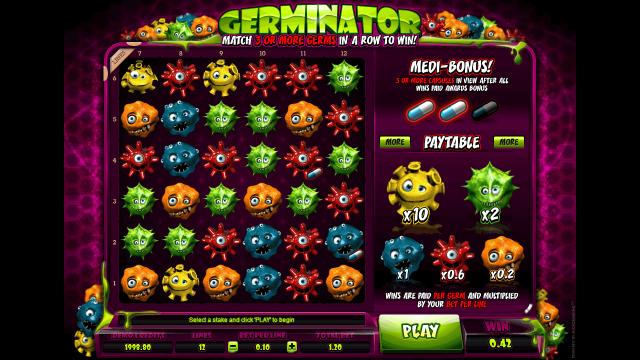 Бонусная игра Germinator 3