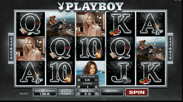 Характеристики слота Playboy 10