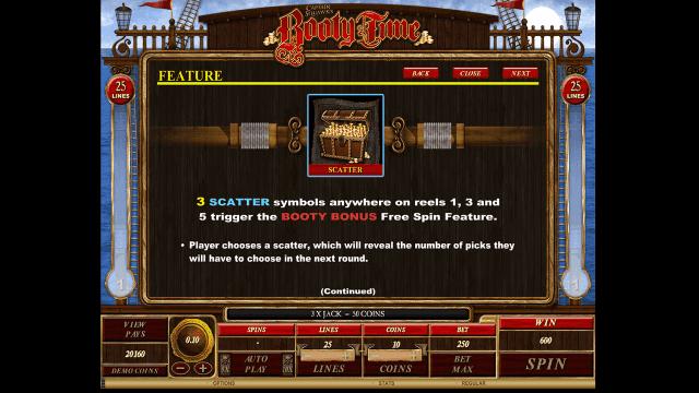 Бонусная игра Booty Time 7