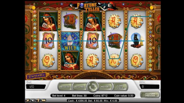 Бонусная игра Fortune Teller 6