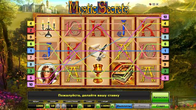 Бонусная игра Mystic Secrets 5