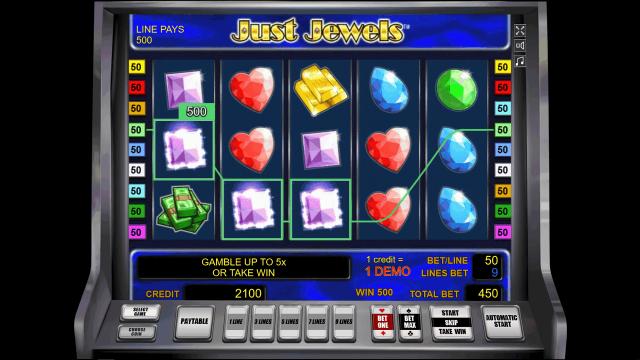 Игровой интерфейс Just Jewels 4