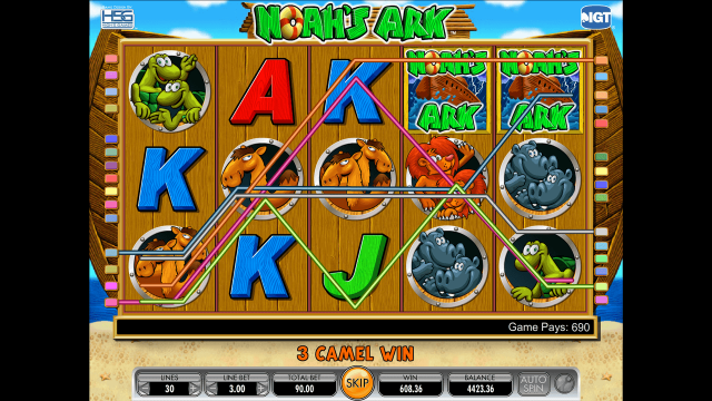 Бонусная игра Noah's Ark 4
