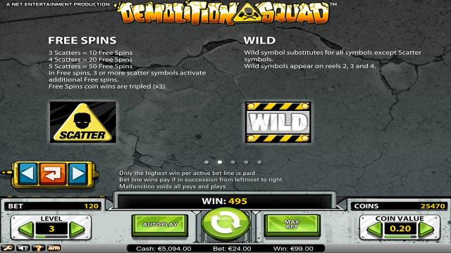 Бонусная игра Demolition Squad 2