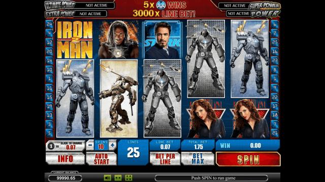 Игровой интерфейс Iron Man 2 6
