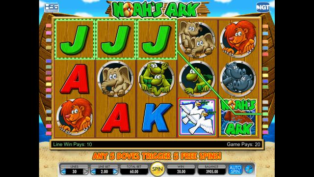 Игровой интерфейс Noah's Ark 3