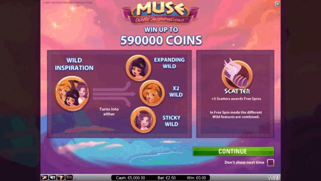 Игровой интерфейс Muse 1