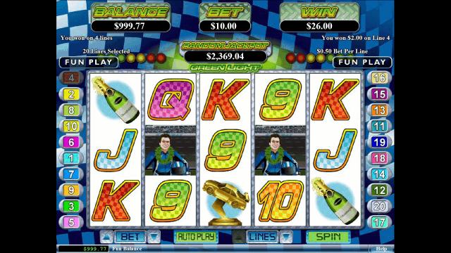 Бонусная игра Green Light 5