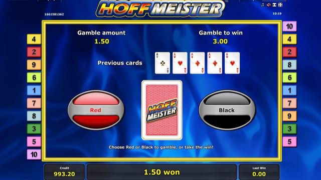 Игровой интерфейс Hoffmeister 6