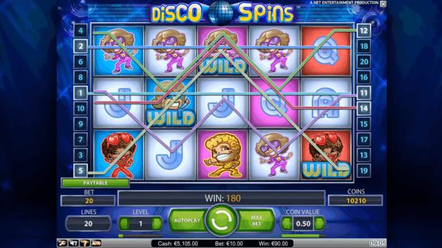 Бонусная игра Disco Spins 4