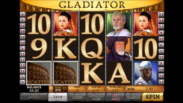 Игровой интерфейс Gladiator 6