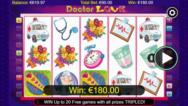 Бонусная игра Doctor Love 8