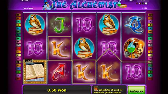 Игровой интерфейс The Alchemist 10