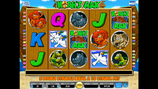 Бонусная игра Noah's Ark 2