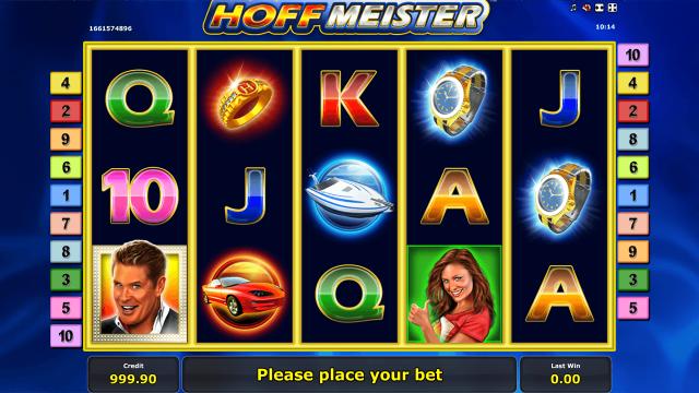 Игровой интерфейс Hoffmeister 1