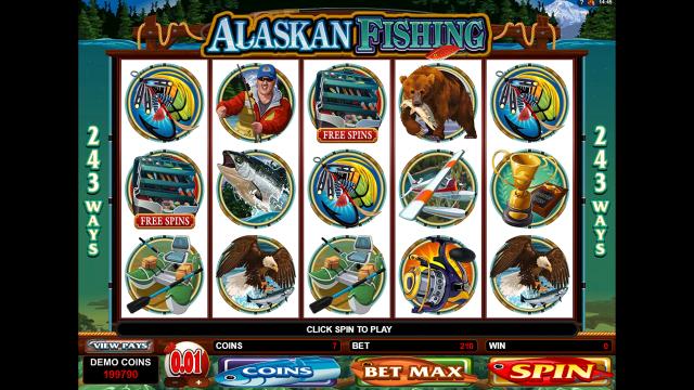 Игровой интерфейс Alaskan Fishing 8