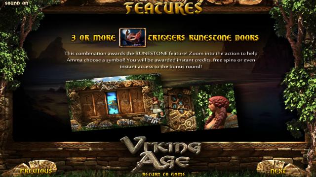Характеристики слота Viking Age 3
