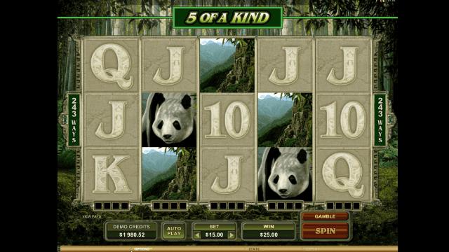 Бонусная игра Untamed Giant Panda 9