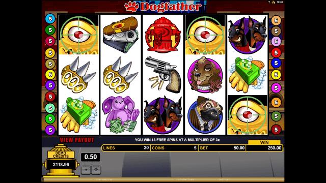 Бонусная игра Dogfather 9