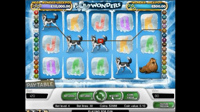 Бонусная игра Icy Wonders 7