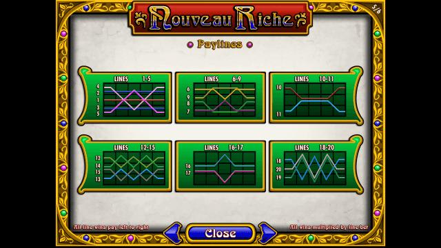 Игровой интерфейс Nouveau Riche 5