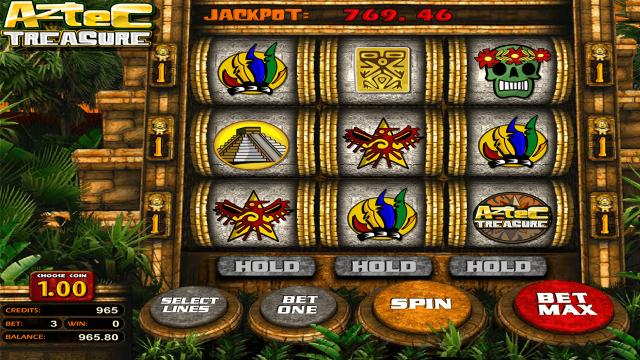 Бонусная игра Aztec Treasure 2D 7