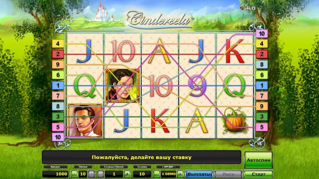 Бонусная игра Cindereela 1
