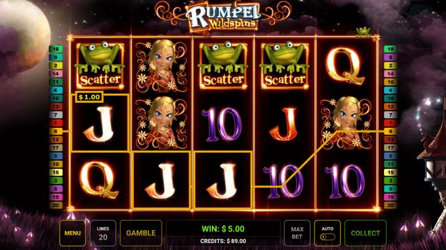 Бонусная игра Rumpel Wildspins 5