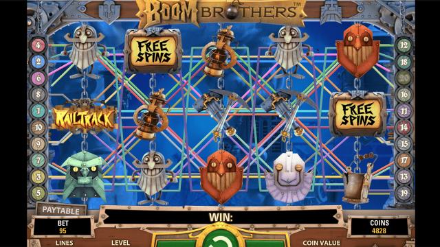 Игровой интерфейс Boom Brothers 5
