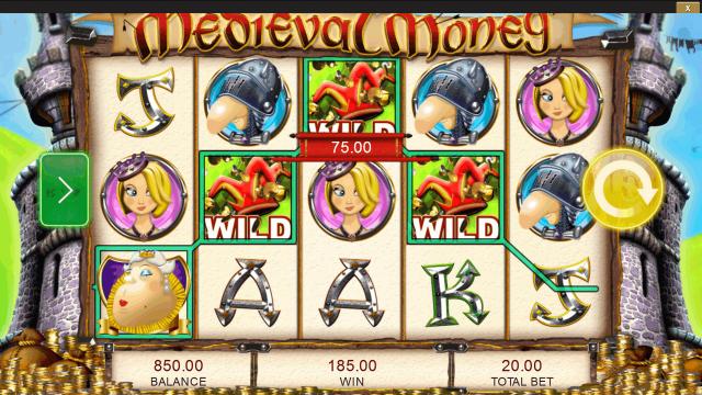 Характеристики слота Medieval Money 5