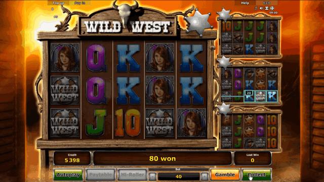 Игровой интерфейс Wild West 6