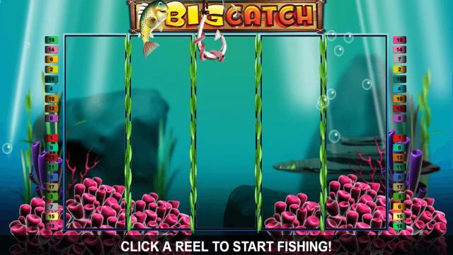Бонусная игра Big Catch 8