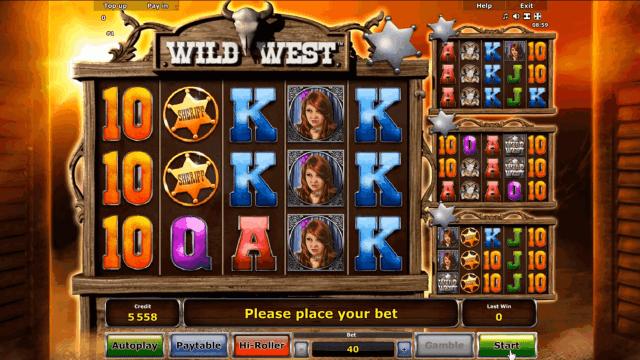 Бонусная игра Wild West 1
