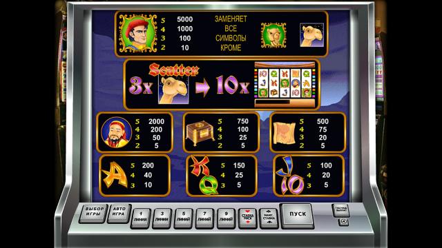 Игровой интерфейс Marco Polo 6