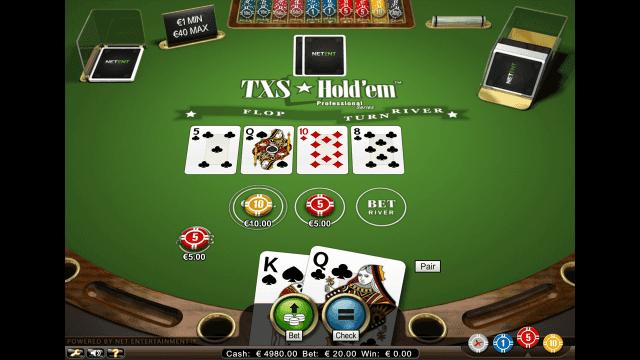 Характеристики слота TXS Hold'em Pro Series 6