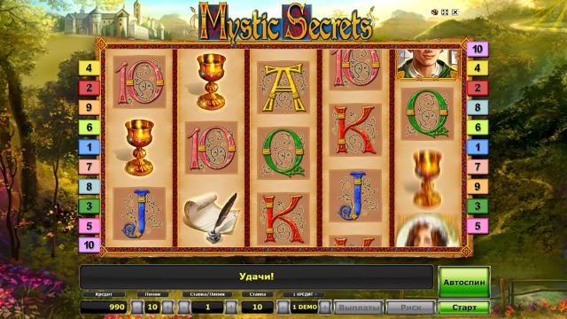 Игровой интерфейс Mystic Secrets 6