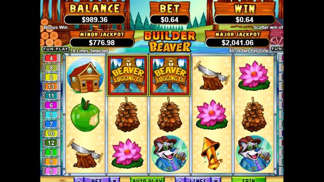 Бонусная игра Builder Beaver 8