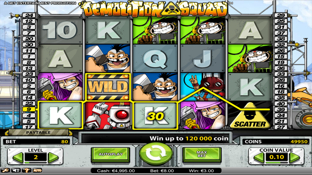 Бонусная игра Demolition Squad 3