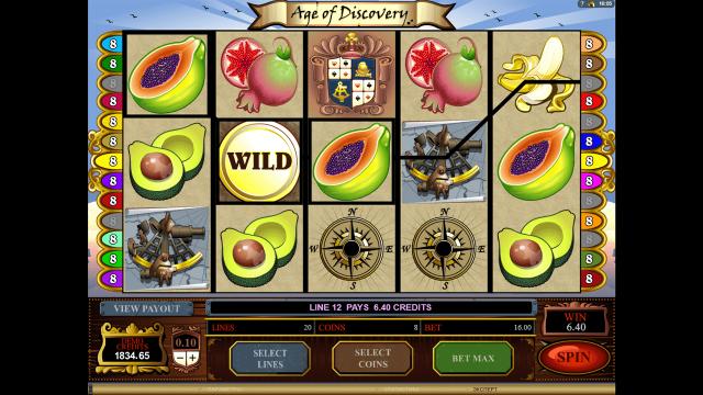 Игровой интерфейс Age Of Discovery 10