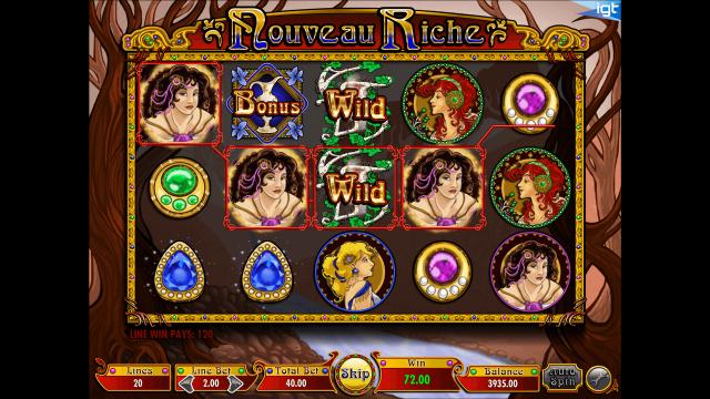 Игровой интерфейс Nouveau Riche 2