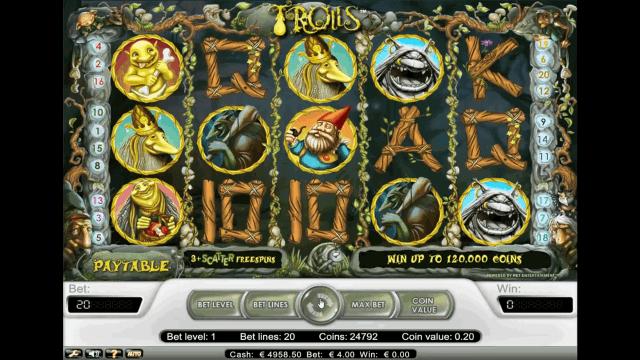 Игровой интерфейс Trolls 8