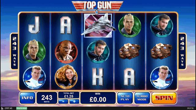 Бонусная игра Top Gun 3