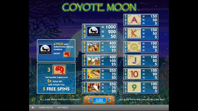 Игровой интерфейс Coyote Moon 5
